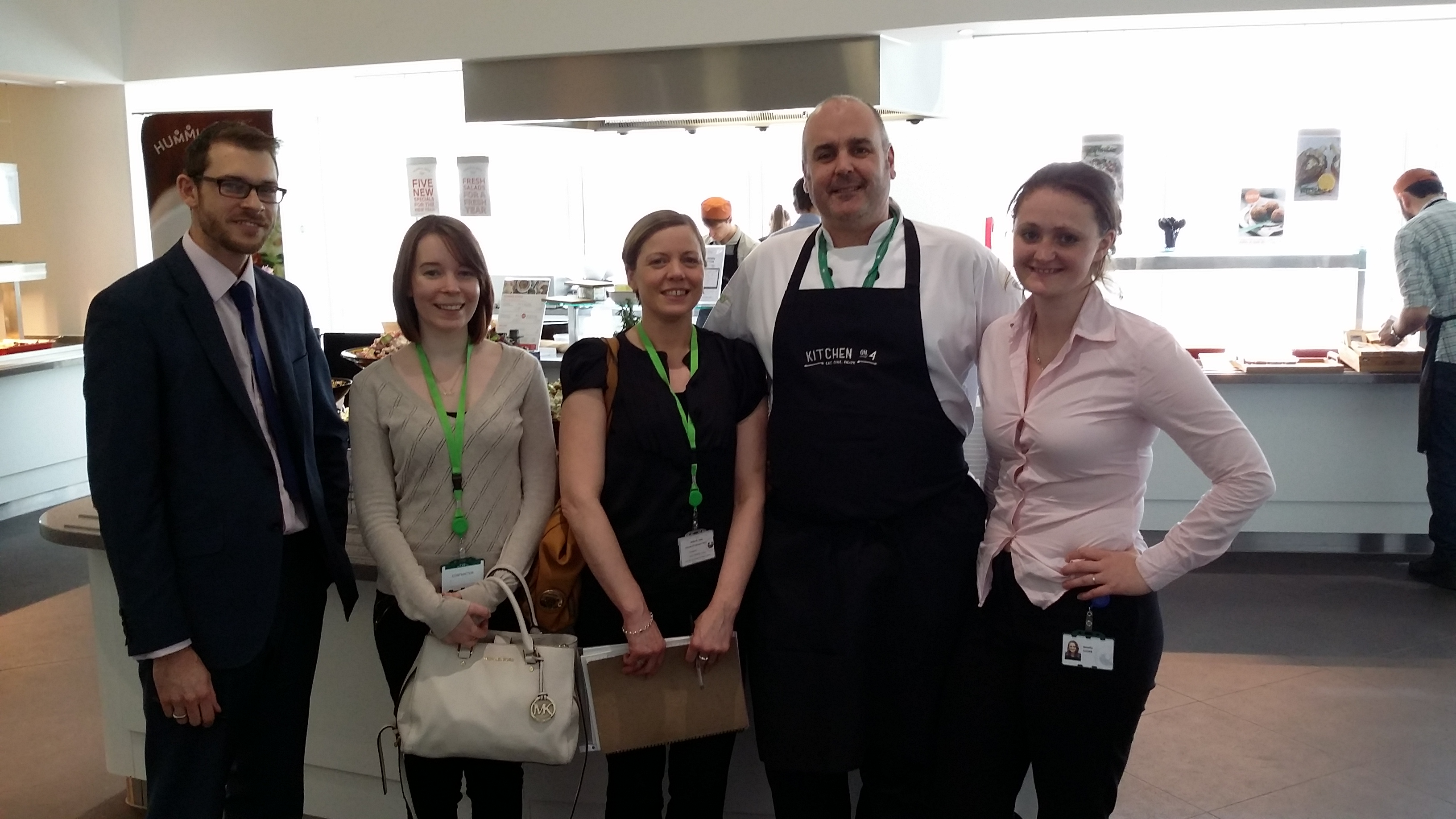 Ed, Jess, Jane, Chef & Amelia
