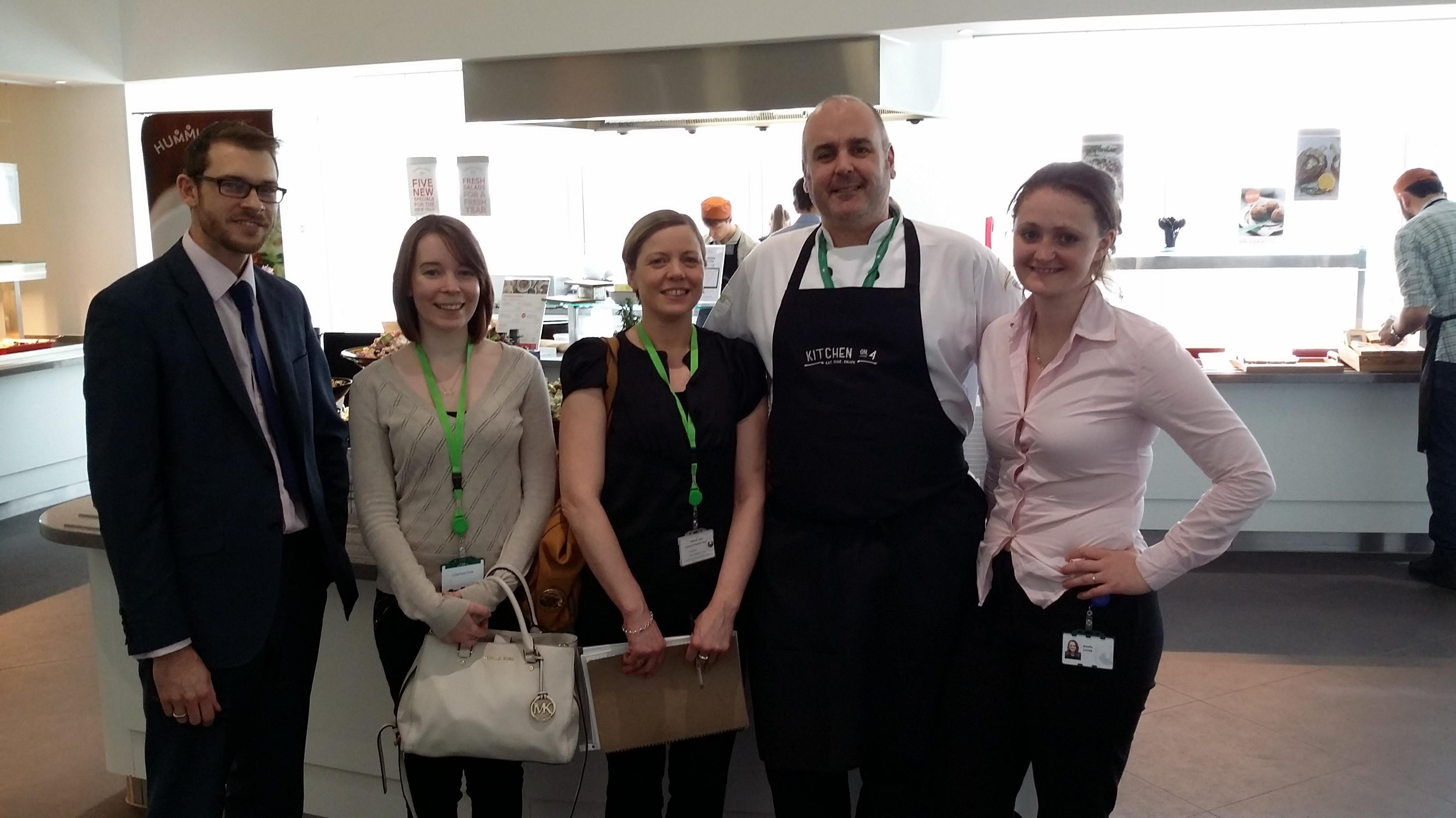 Ed, Jess, Jane, Chef & Amelia