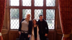 1st Arrivals Sinead, Courtney and Mitchell